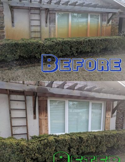 Rust Removal Home Exterior