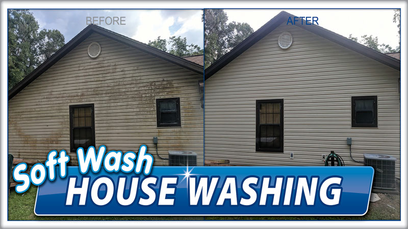 House Washing Soft Wash Pressure Company Ocala Fl